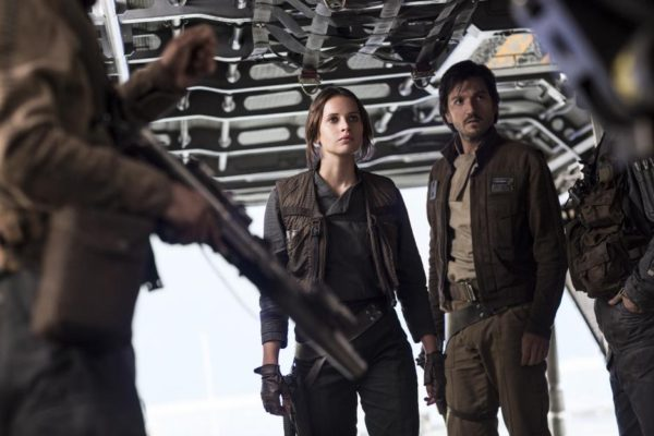 Rogue One Jyn and Captain Cassian Andor