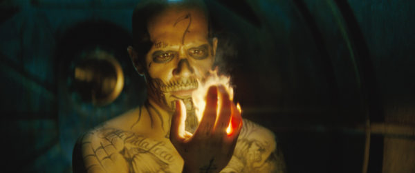 """JJAY HERNANDEZ as Diablo in Warner Bros. Pictures' action adventure """"SUICIDE SQUAD,"""" a Warner Bros. Pictures release. Copyright: © 2016 WARNER BROS. ENTERTAINMENT INC. AND RATPAC-DUNE ENTERTAINMENT LLC Photo Credit: Courtesy of Warner Bros. Pictures/ TM & (c) DC Comics"""