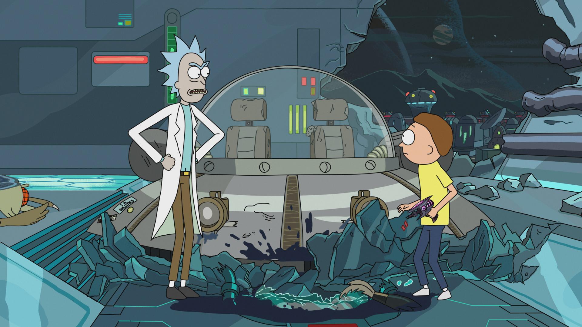 Rick and Morty Season 2 on DVD