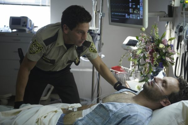Shane Walsh (Jon Bernthal) and Rick Grimes (Andrew Lincoln)