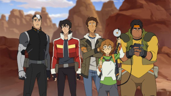 Voltron Characters