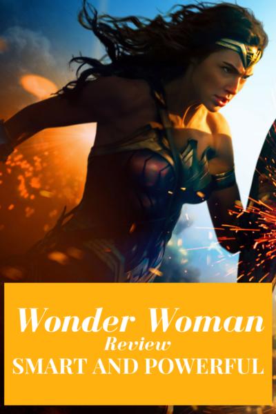Wonder Woman Review Pin