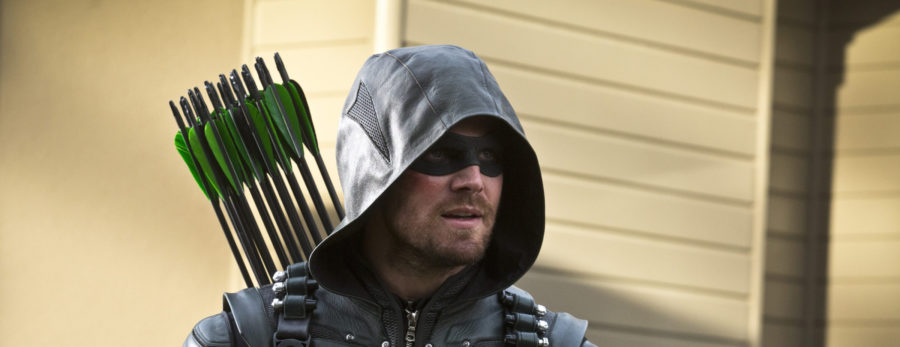 Stephen Amell as the Green Arrow on the CW