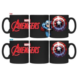 Avengers Captain America Heat Changing Mug