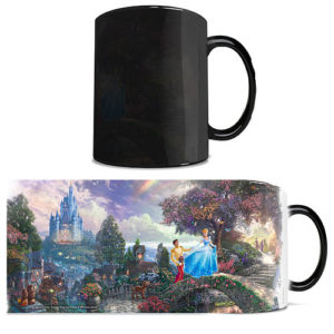 Cinderella Thomas Kinkade Heat Changing Mug