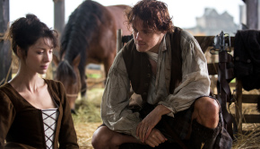 Outlander's Claire and Jamie / Starz