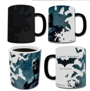 Dark Knight Bats Heat Changing Mug