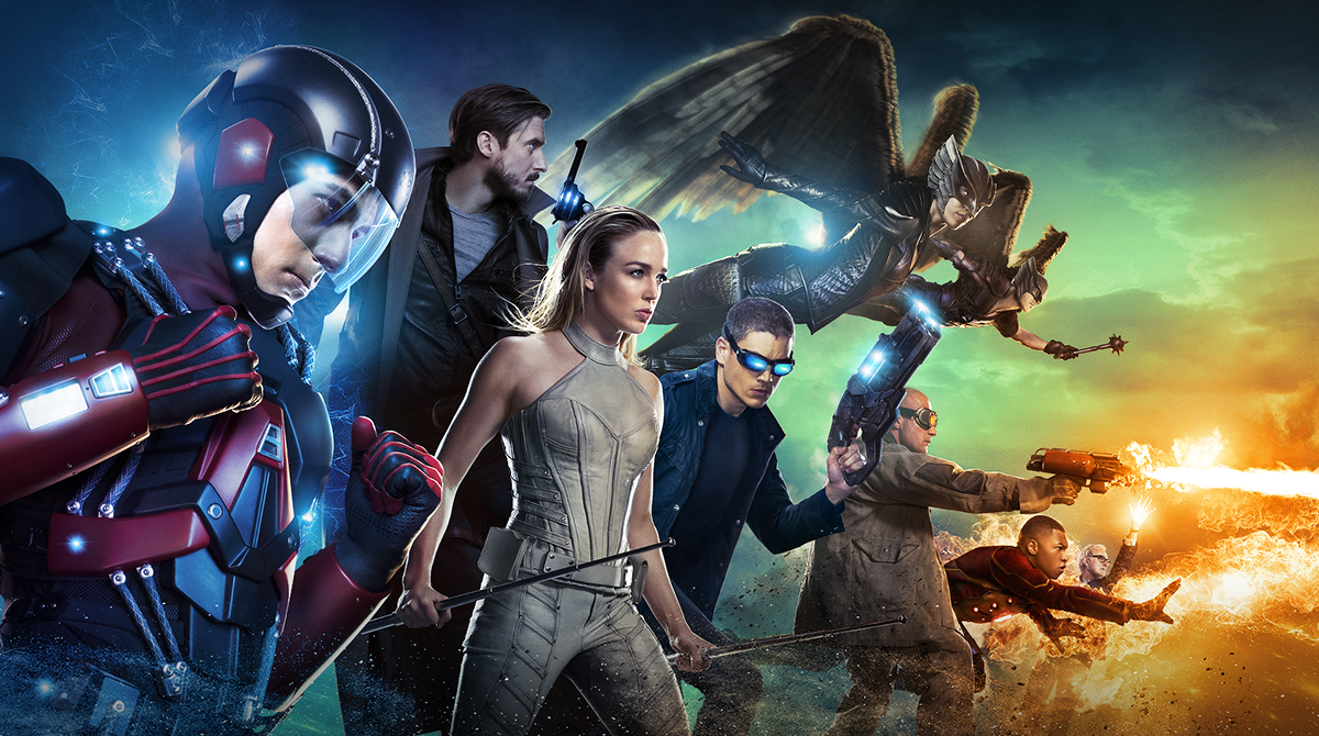 DC's Legends of Tomorrow Landscape Poster