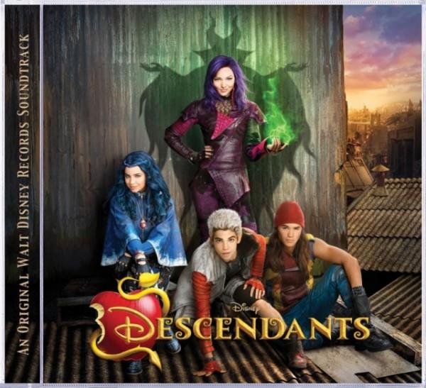 All about Disney Descendants soundtrack