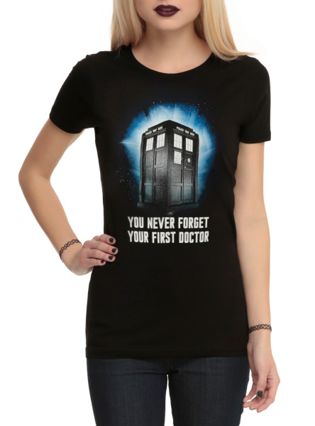 Doctor Who Shirt from Hot Topic