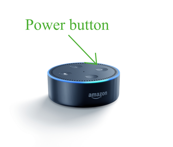 Echo Dot Power Button
