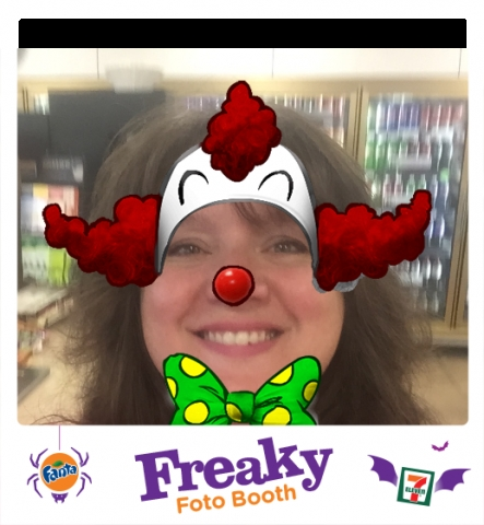 Freaky Foto Booth Clown