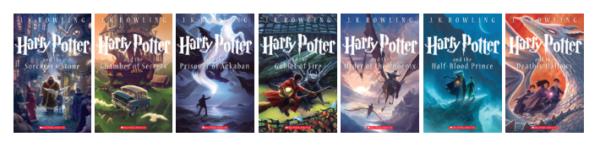 Harry Potter Set of Books