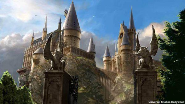Hogwarts Artist's Rendering