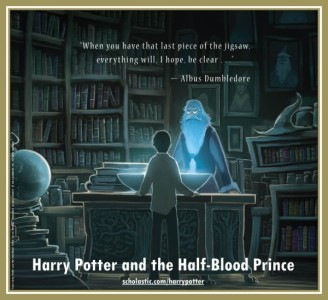 Harry Potter and the Half-Blood Prince back cover / CR: Kazu Kibuishi / Scholastic