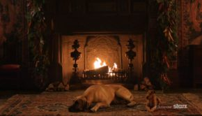 Outlander Yule Log