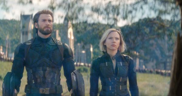 Infinity War Captain America Black Widow