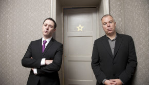 Programme Name: Inside No. 9 - TX: 05/02/2014 - Episode: Generics (No. Generics) - Picture Shows: (L-R) Reece Shearsmith, Steve Pemberton - (C) BBC - Photographer: Richard Ansett