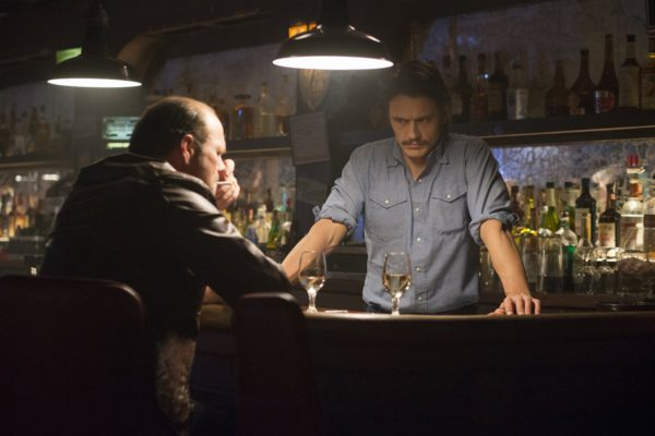 "Chris Bauer and James Franco in ""The Deuce"""