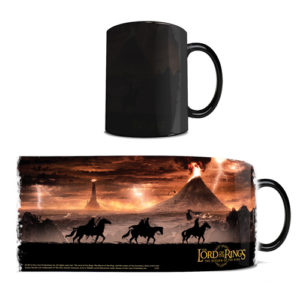 Lord of the Rings Mordor Heat Changing Mug