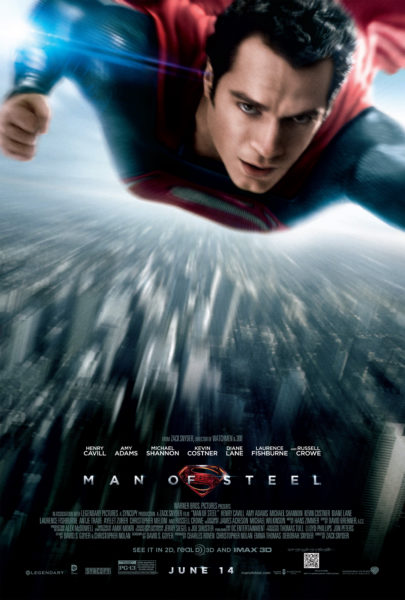 Man of Steel Review Pin