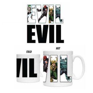 Marvel Villains Heat Changing Mug