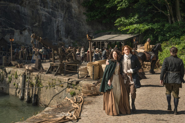 Claire and Jamie Arrive in France