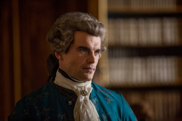 Stanley Webber as Comte St. Germain in 'Outlander' Season 2