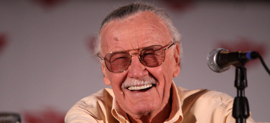 Stan Lee speaking at comic-con