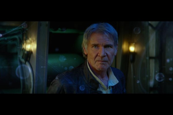 Harrison Ford as Han Solo in 'Star Wars: The Force Awakens'