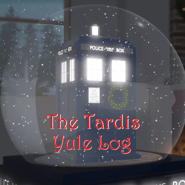 Tardis Yule Log