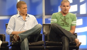 2005 FOX TCA: Wentworth Miller and Dominic Purcell answer questions from the television critics during the PRISON BREAK session at the FOX's Summer Press Tour Friday, July 29 at the Beverly Hilton in Beverly Hills, CA. ª©2005 FOX BROADCASTING COMPANY. Cr: Ray Mickshaw/FOX