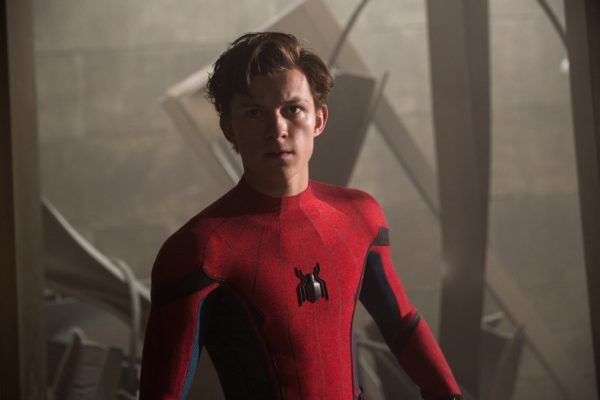 Tom Holland stars as Spider-Man/Peter Parker in Columbia Pictures' SPIDER-MAN™: HOMECOMING.