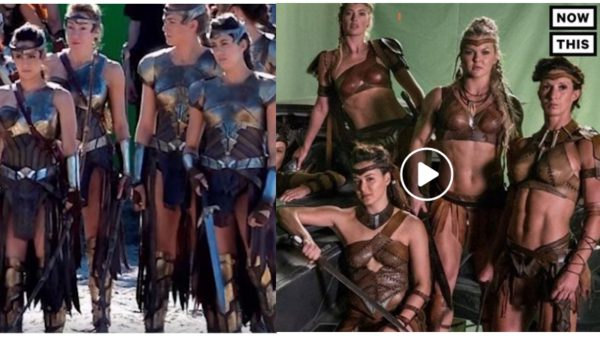 Wonder Woman Justice League Amazons